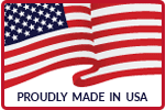 American flag - Proudly Made in USA